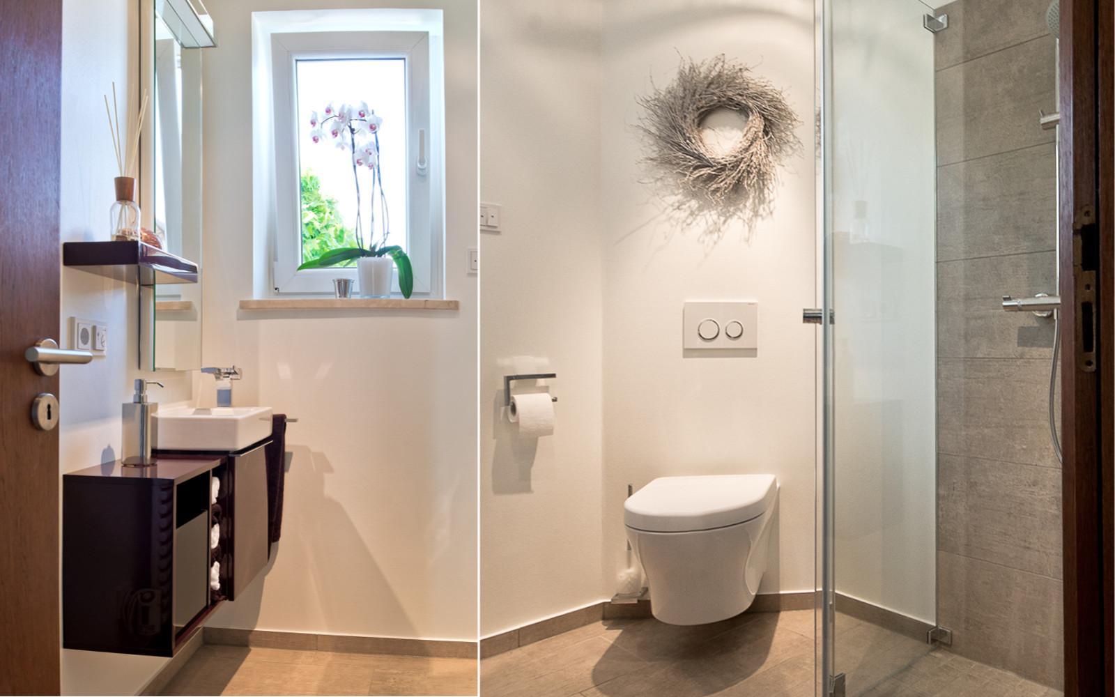 Dusche im Gäste-WC | Kreuz | Schnaittach | (Lauf a.d. Pegnitz) bei ...
